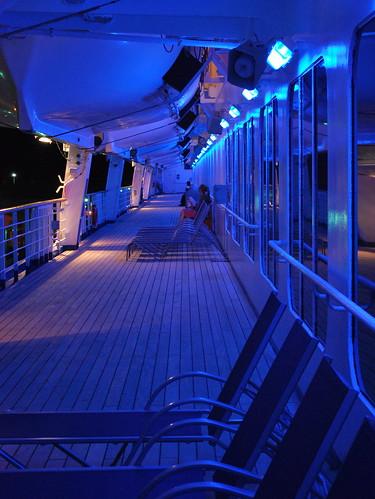 Blue Starboard Deck