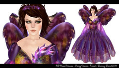 Rose Princess - Pansy Dream - Violet (Naniel ♫) Tags: butterfly wings elfe sl fairy secondlife fee flügel roseprincess schmetterlingsflügel