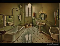 Bany toilette modernista, Casa Mil [Barcelona] (Fototerra.cat) Tags: barcelona nikon modernism toi