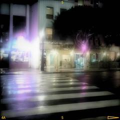 Regen in Santa Monica