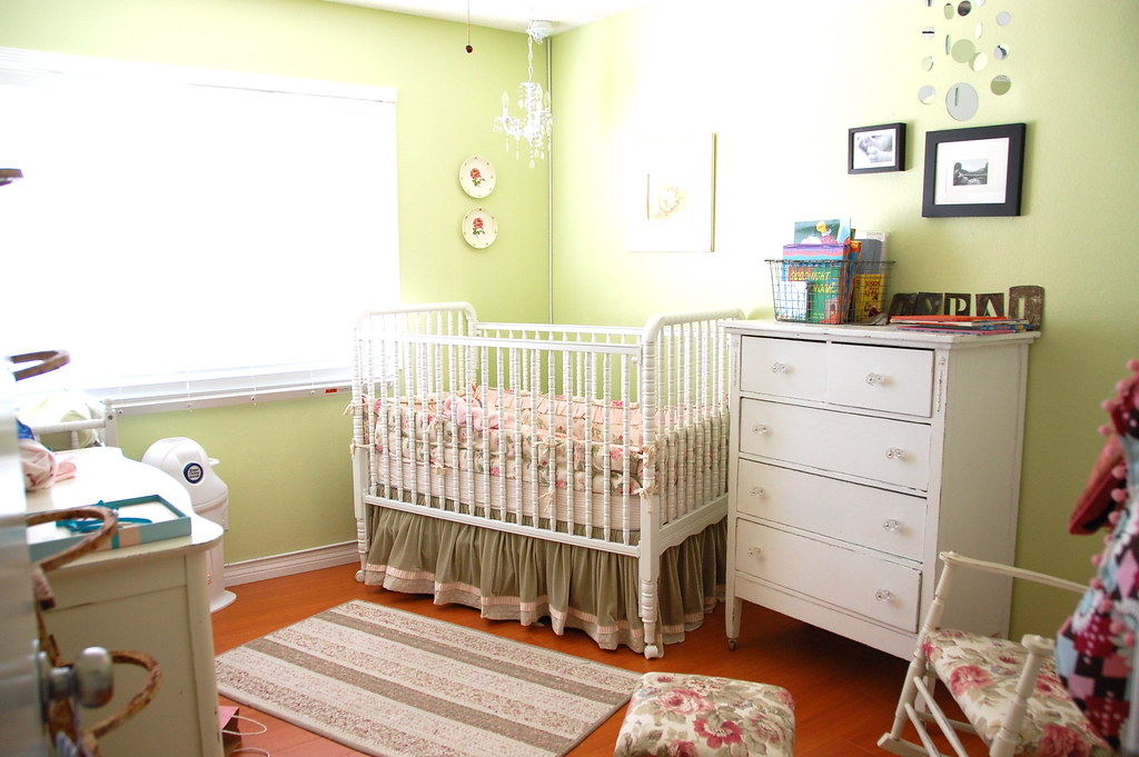 True's baby room in our old house