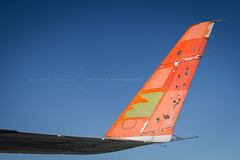 Beaten Winglet - V2 (360 Photography) Tags: plane airplane montreal aviation winglet damaged beaten dorval avion crj yul bombardier mathieupouliot