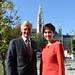 HGS trifft  Senior Minister of State von Singapur, Josephine TEO