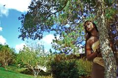 #ProjectNeverland: #Pocahontas (TheJennire) Tags: photography fotografia foto photo camara camera colours colores cores light luz photoshoot pocahontas princess disney movie cinema people portrait hair cabello pelo cabelo fantasy dream dreamy ethereal fashion style makeup indie girl young tumblr face projectneverland conceptualphotography nature natureza naturaleza wind colorsofthewind fisheye lens sky trees