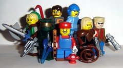 Video Game Collectible Minifigs Series 1 (ChocoBricks Customs) Tags: lego halo mario link halflife custom masterchief legendofzelda gordonfreeman megaman dukenukem castlevania simonbelmont