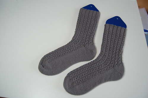 Gray Sky socks