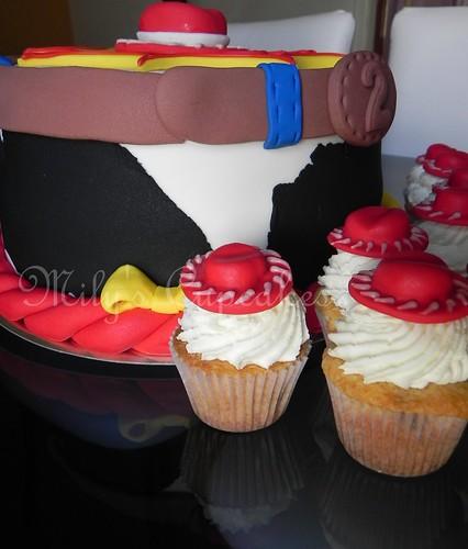 Cake and cupcakes Jessie Toy Story para Eva!