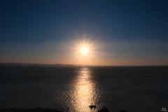 Acabando la jornada (Marcos Vzquez) Tags: sunset espaa landscape atardecer mar spain flickr paisaje galicia ocaso mugardos canoneos450d kitis puntadelsegao mygearandmepremium puntadelsegao