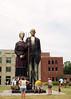 God Bless America Sculpture (SOMETHiNG MONUMENTAL) Tags: sculpture art canon giant 3d indianapolis indiana august godblessamerica 2010 americangothic g11 indianastatefair johnsewardjohnson somethingmonumental mandycrandell