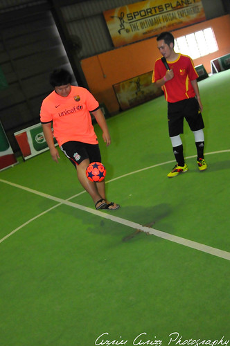 Castrol Football Crazy Futsal session