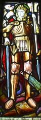 Church of St James, Egerton: stained glass window (John Steedman) Tags: uk greatbritain england church window kent unitedkingdom stainedglass stainedglasswindow stjames egerton grossbritannien     grandebretagne greensandway
