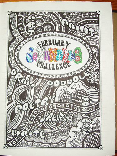February Journaling Challenge: Cover.