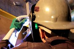 TIG (DoMiniC TreMblaY_) Tags: metal welding weld helmet flame welder tig soudure soudeur smaw soudage gtaw