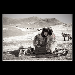 Mongolian hunter (End of XVIII century) (Mr.GG) Tags: mongolia oldphoto hunter herder mrgg canon5dmarkii ggmgl ganulziig