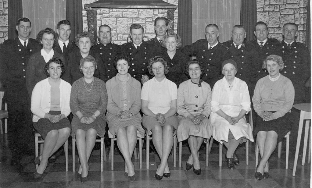 Millport Fire Brigade Party 1950s