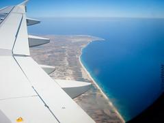 Tunisie Vue Du Ciel (Ena Tounes) Tags: mer tunisia tunis ciel vol vue tunisie avion tunisair