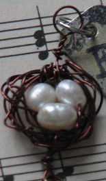 wire bird nest charm 8