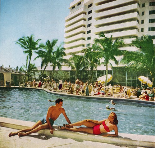RETRO FLORIDA: By The Pool