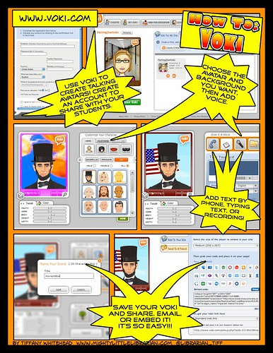 All about Voki... as a comic poster