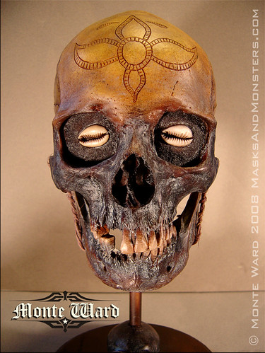Another Dayak Skull Pattern