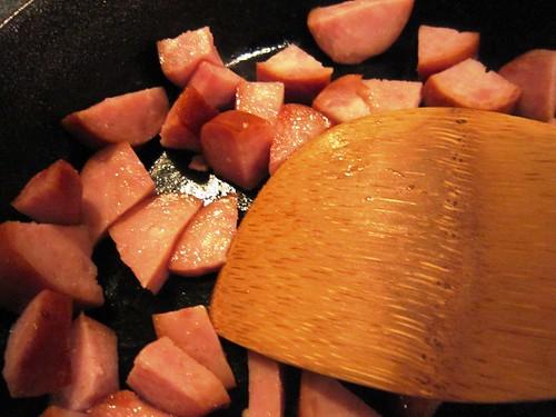 Sauteing the sausage