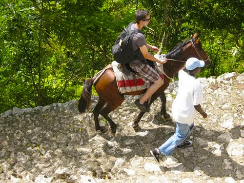 Haiti Horseback Riding On The Trail