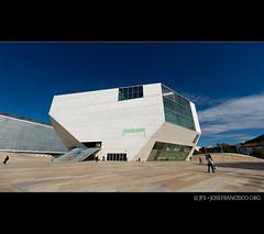 Casa da Msica [4-img mosaic] (josefrancisco.salgado) Tags: panorama portugal nikon europa europe porto pt nikkor concerthall casadamsica ptgui saladeconciertos grandeporto d3s 2470mmf28g