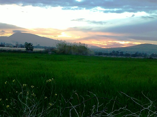Sunset Ain Reggada غروب عين الرقادة