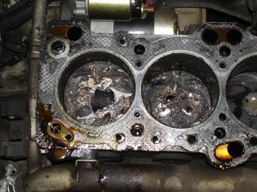 Cylinder damage on my car