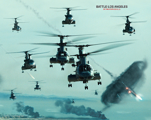 Battle Los Angeles movie trailer