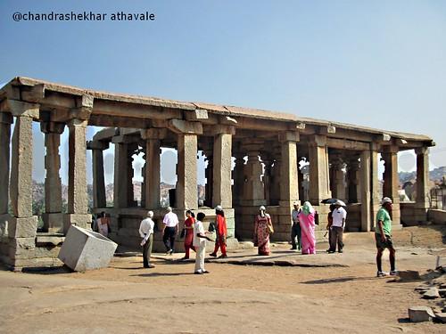 Entrance gate to kadalekalu ganesha temple
