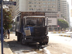 Another CSF vehicle torched