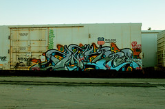 knistto (DCAN 1) Tags: road train graffiti rail freight reefer armn rxr fgs gtl knistto