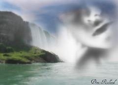 Les jours meilleurs (Domi Rolland ) Tags: eve france nature canon eau femme rivire cascade brume millau douceur aveyron 2011 midipyrnes g9