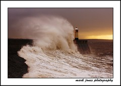stormy porthcawl[explored!] (neath stan the man) Tags: lighthouse sony stormy excellent rough seas porthcawl bythesea a700 70200g