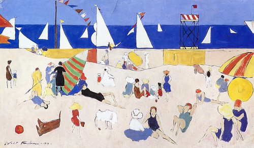 Kuhn, Walt  - At the beach  - 1919
