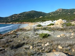 Plage et dunes de Mucchju Biancu