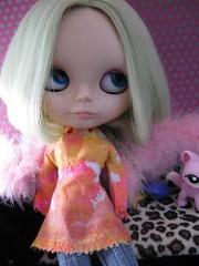 Pink Tie Dye Top/Dress