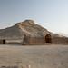 Ruins beneath a Tower of Silence near Yazd