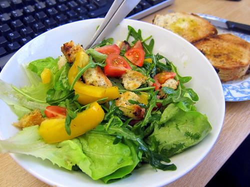 Seaweed Sourdough Salad