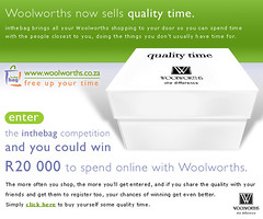 "Woolworths in the bag Promo • <a style=""font-size:0.8em;"" href=""http://www.flickr.com/photos/10555280@N08/5427803235/"" target=""_blank"">View on Flickr</a>"