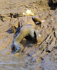 16 WS Dare you to catch me mud crawling guys (Wrangswet) Tags: wet canal mud hiking cowboyhat wetlook riverhiking muddyboots swimmingfullyclothed muddycowboy wetcowboy muddycowboyboots mudwallow wetwranglerjeans mudwallowing muddywranglerjeans cowboybootsandspurs muddycowboywallowing