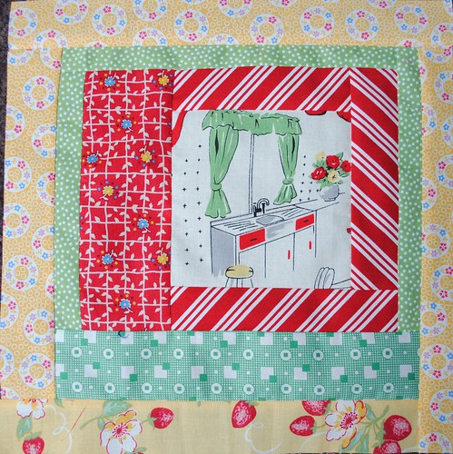 February block #1 for Seven Stitches