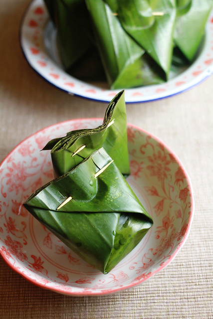 Nin Gou in Coconut Milk and Pandan