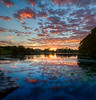 Lake 6 sunset (dazza17 - DJ) Tags: clouds sunshinecoast scapes smethwick daryljames stunningskies dazza17 sunsetsippydownslakebridgehdrreflection 3rdcpnointernationalexhibitionofphotography intok