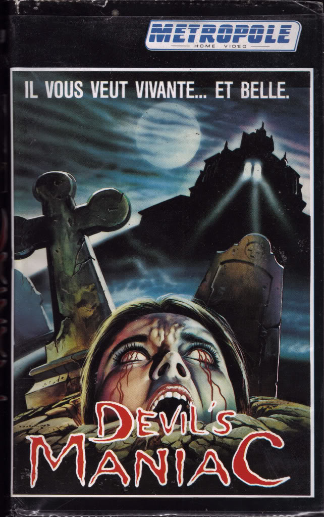 Devils Maniac (VHS Box Art)