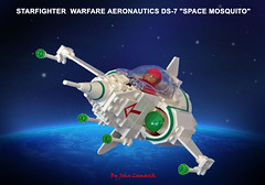 DS-7 2.0 (John Lamarck) Tags: lego space mosquito starfighter syfy