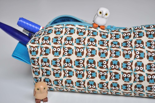 pencil case owl