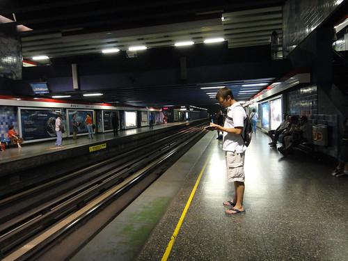 Dusty Recording Our Metro Fare