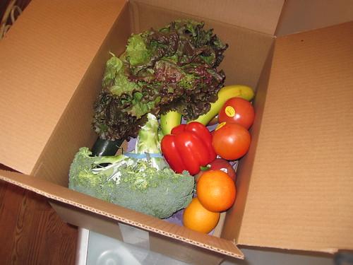 Box From Door to Door Organics Michigan